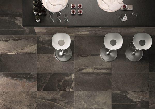 Zdjęcie Płytka podłogowa Italgraniti Stone Mix Ardesia Black 60x120cm