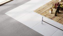 Zdjęcie Płytka podłogowa Ceramika Limone Bestone Grey 79,7×79,7cm