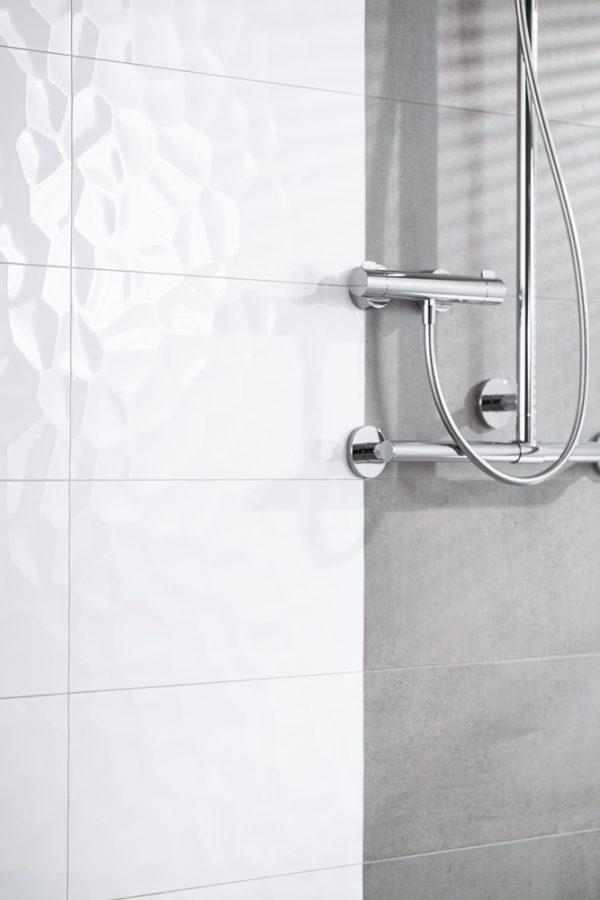 Zdjęcie Płytka ścienna Ceramika Limone Navi Biała Połysk 29,8×59,8 cm