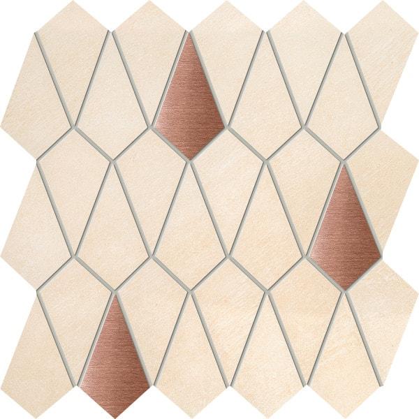 Mozaika ścienna Tubądzin Pistis 27,9x27,6 cm