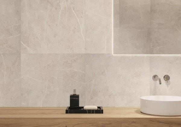 Zdjęcie Płytka podłogowa Ceramika Limone Katania White 60×60 cm