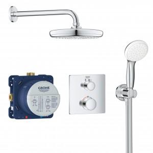 Zestaw natryskowy podtynkowy termostatyczny GROHE Grohtherm Smart control 34729000