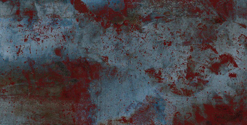 Płytka ścienna Ceramika Limone Plutonic Azul 60x120 cm
