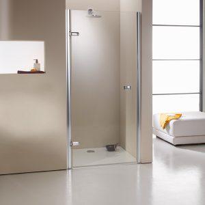 Drzwi prysznicowe skrzydlowe Huppe Enjoy 4-Kąt do wnęki lewe 90 670021091322