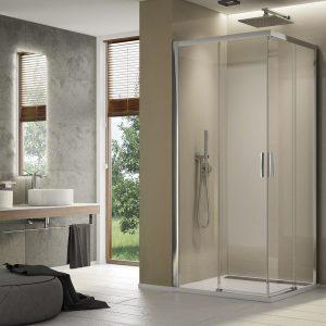 Drzwi prysznicowe SanSwissTOP-LINE S PRAWE 90x200 TLSD0805007