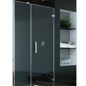 Drzwi prysznicowe SanSwiss Pur + SC W LINI PRAWE 110x200 CHROM PU31PDSM21007