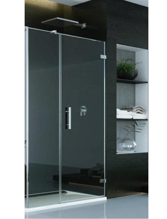 Zdjęcie Drzwi prysznicowe SanSwiss Pur + SC W LINI PRAWE 110×200 CHROM PU31PDSM21007