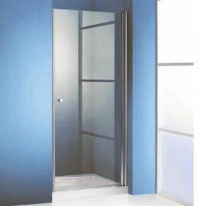 Drzwi prysznicowe skrzydłowe Huppe 501 Design 4-KĄT 510600087321 ST800 80x80