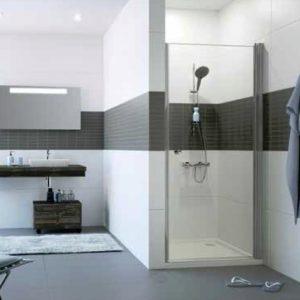Drzwi prysznicowe skrzydłowe Huppe ENA C SKRZYDŁOWE A23502069322400