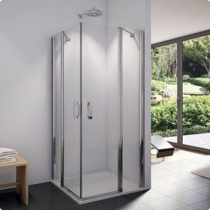 Drzwi prysznicowe do kabiny SanSwiss Swing Line prawe SLE2DSM15007 1000x1950