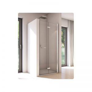 Drzwi prysznicowe SanSwiss Solino składane prawe 1000 SOLF1D1005007