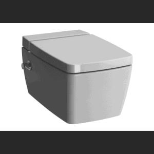 Miska WC wisząca Metropole 56×36 cm VitraFlush z funkcją bidetu 7672B003-1087/7672B003-1687